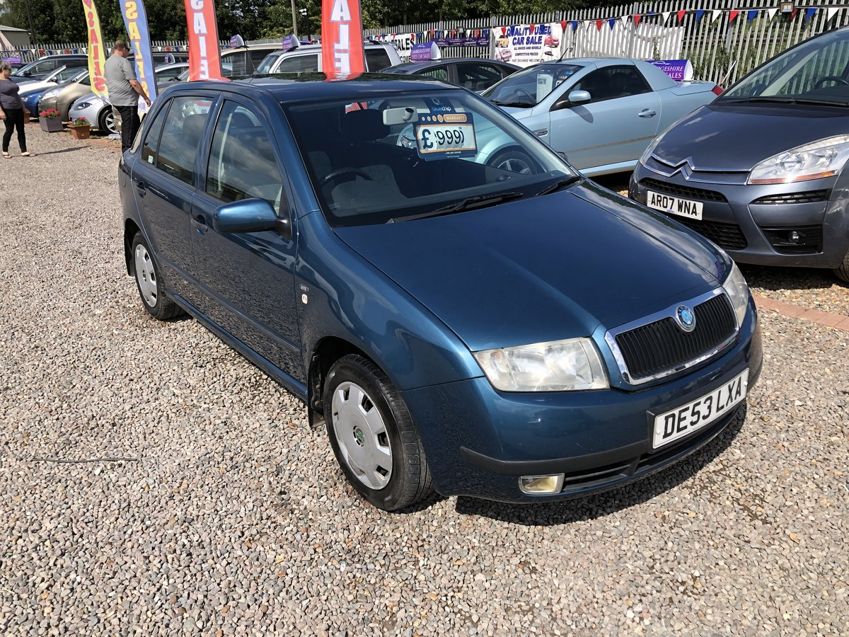 2003 SKODA Fabia 1.2 Comfort 5dr For Sale (picture 2 of 6)