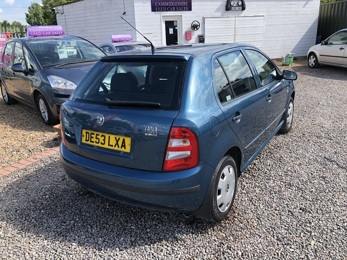 2003 SKODA Fabia 1.2 Comfort 5dr For Sale (picture 3 of 6)