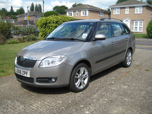 2008 Skoda 1.6 Golf Petrol Engine Fabia 3 Estate For Sale