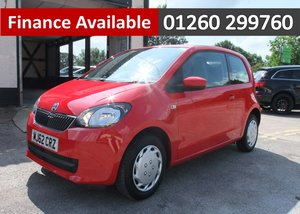 2012 SKODA CITIGO 1.0 SE 12V 3DR AUTOMATIC SOLD