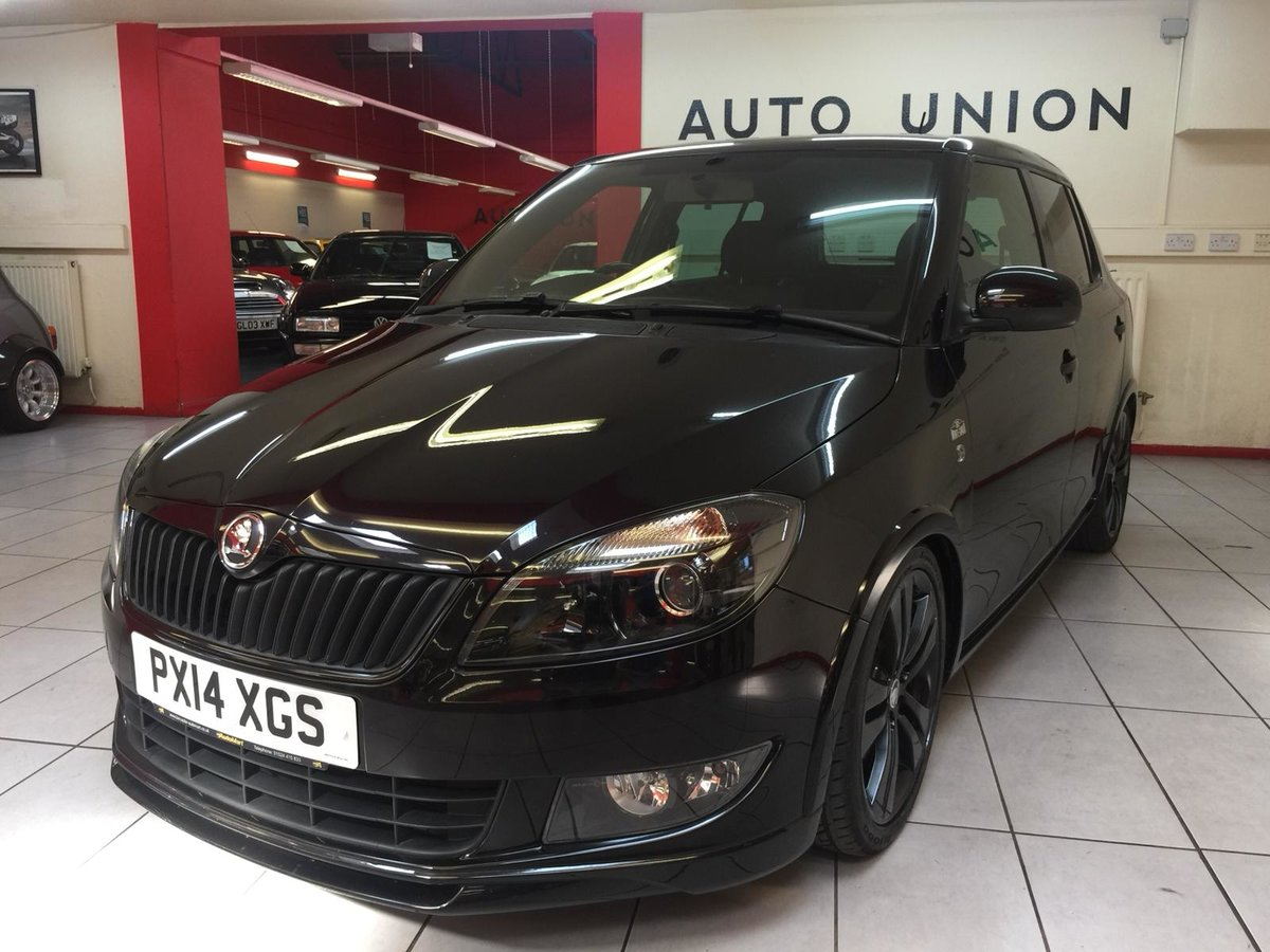 2014 SKODA FABIA 1.2 TSI MONTE CARLO TECH For Sale (picture 1 of 6)