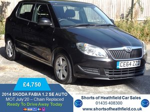2014/64 Skoda Fabia 1.2 TSI DSG AUTOMATIC SE - 5 Dr Hatchbac For Sale
