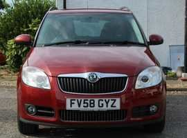2008 Skoda fabia estate 3  1.4  petrol 5dr fsh For Sale (picture 2 of 6)