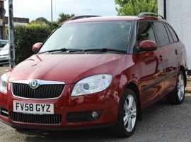 2008 Skoda fabia estate 3  1.4  petrol 5dr fsh For Sale (picture 3 of 6)
