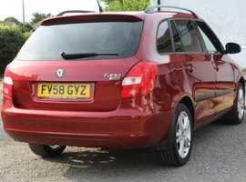 2008 Skoda fabia estate 3  1.4  petrol 5dr fsh For Sale (picture 4 of 6)