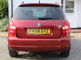 2008 Skoda fabia estate 3  1.4  petrol 5dr fsh For Sale (picture 5 of 6)