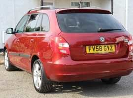 2008 Skoda fabia estate 3  1.4  petrol 5dr fsh For Sale (picture 6 of 6)