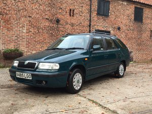 2000 Skoda Felicia 1.6  glxi estate