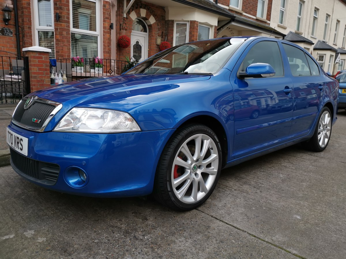 2007 Skoda octavia vrs tdi 170 bhp low miles For Sale (picture 1 of 6)