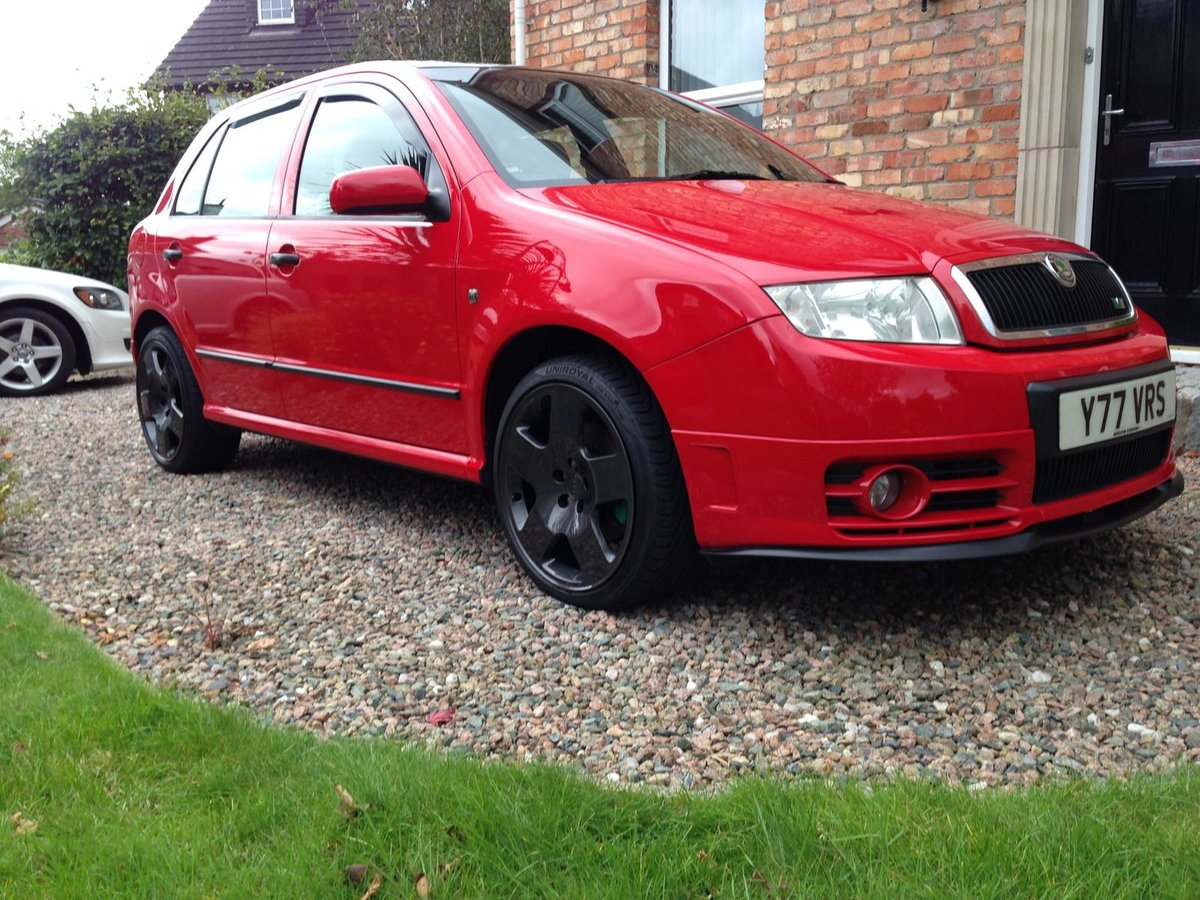 2004 Skoda fabia 1.9tdi 130bhp vrs special edition SOLD (picture 1 of 6)