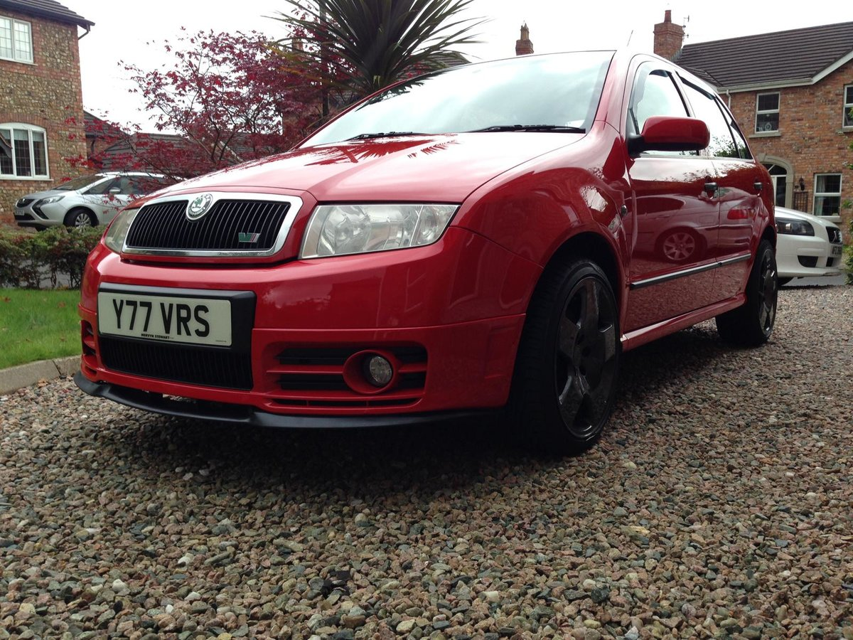 2004 Skoda fabia 1.9tdi 130bhp vrs special edition SOLD (picture 2 of 6)