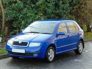 2000 Skoda Fabia 1.4 Elegance.. Very Low Miles.. FSH.. High Spec