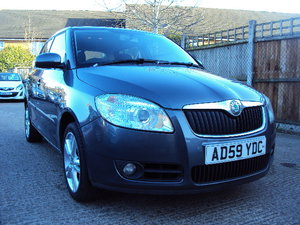 2010 Skoda Fabia 3 85 – 1.4 Petrol -5 Door–  With History & MOT