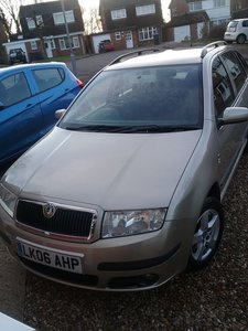 2006 Skoda fabia estate petrol automatic low milage