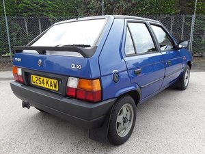 1994 Skoda Favorit GLXi SOLD by Auction