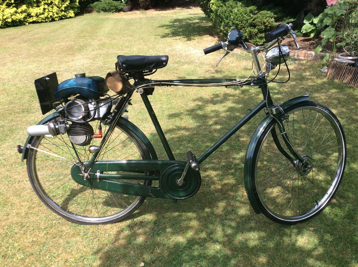 1956 Sinclair Goddard, Synchromatic 49cc Moped For Sale (picture 1 of 4)