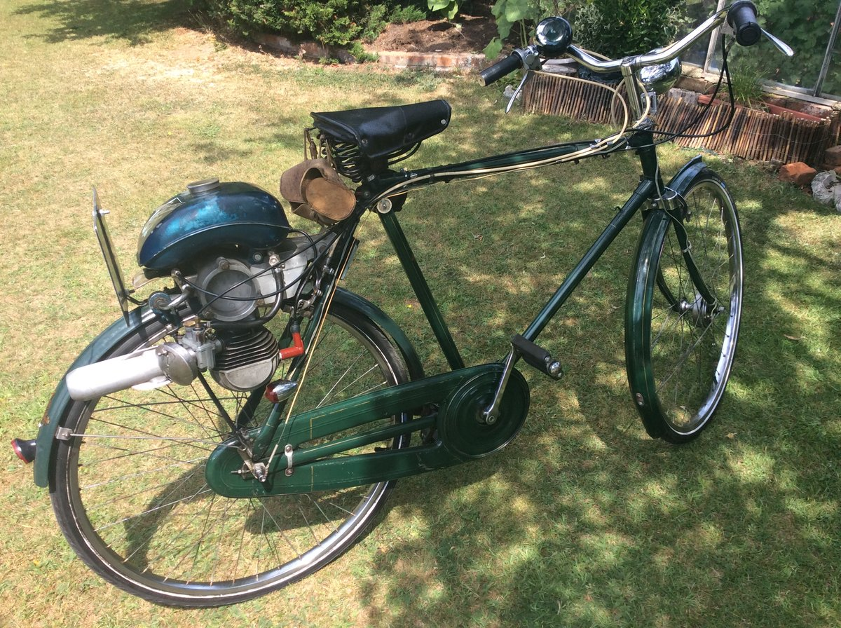 1956 Sinclair Goddard, Synchromatic 49cc Moped For Sale (picture 4 of 4)