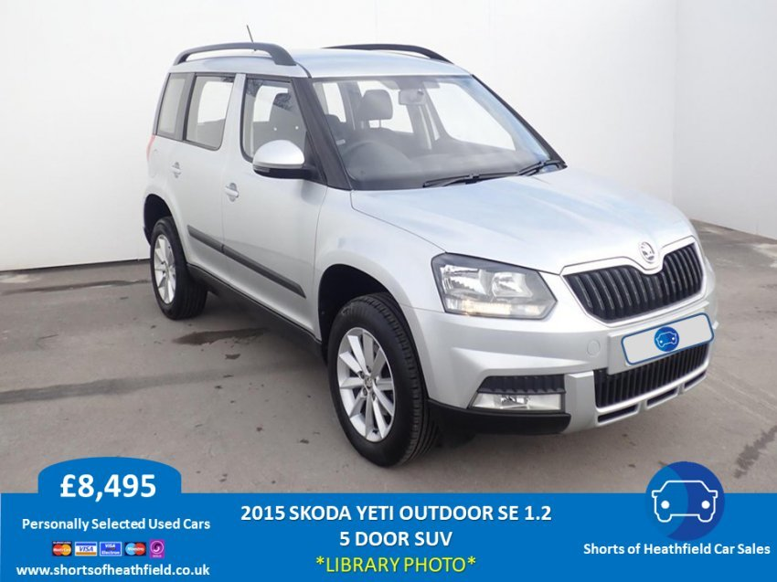 2015 Skoda Yeti Outdoor SE 1.2 TSI Petrol - 5 Dr SUV/Estate For Sale (picture 1 of 1)
