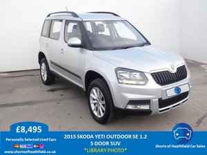 2015  Skoda Yeti Outdoor SE 1.2 TSI Petrol - 5 Dr SUV/Estate