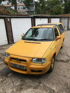1999 Skoda Felicia Fun Pickup Good Running Project