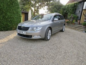 Very high spec Skoda superb elegance