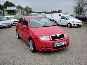 2003 SKODA FABIA 1.9 TDI VRS **ONLY 83,000 MILES WITH FSH**  For Sale