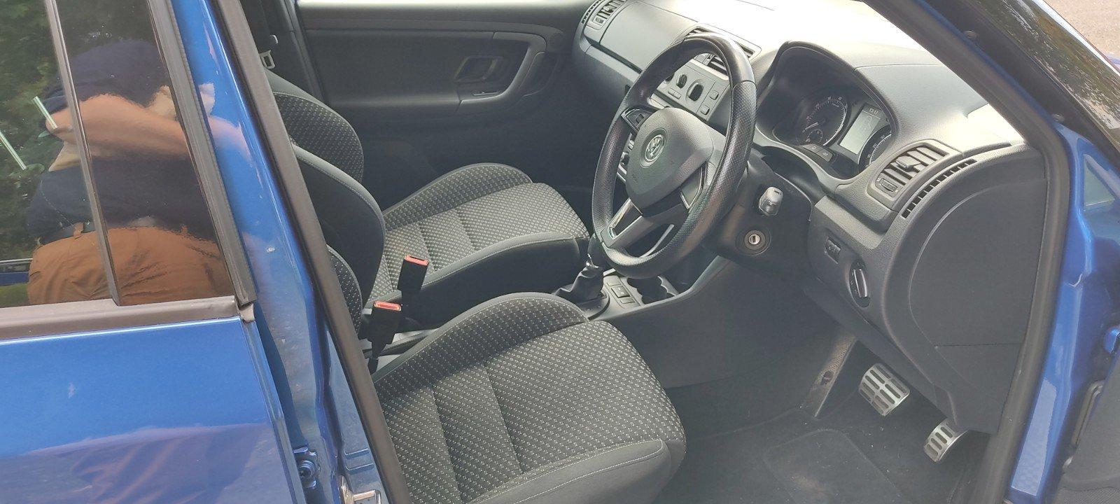2013 Skoda Fabia VRS Hatch, FSH, 57k miles, Blue For Sale (picture 3 of 6)
