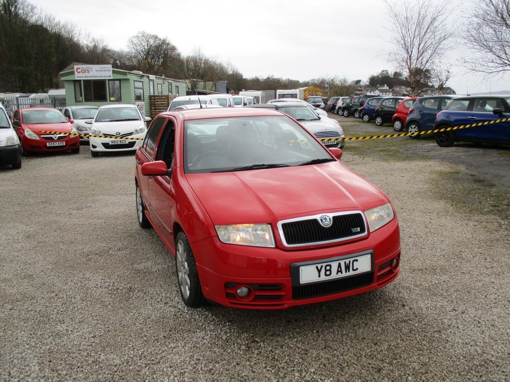 2003 SKODA FABIA 1.9 TDI VRS 83,000 MILES WITH FSH. LEATHER For Sale (picture 1 of 12)