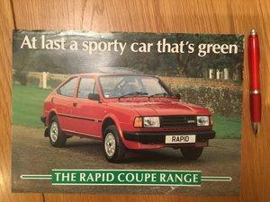 Picture of 1990 Skoda brochures For Sale