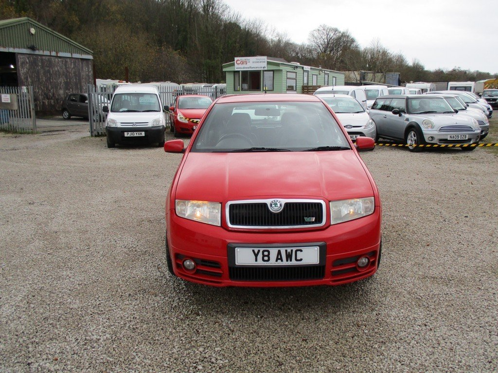 2003 SKODA FABIA 1.9 TDI VRS 83,000 MILES WITH FSH. LEATHER For Sale (picture 2 of 12)