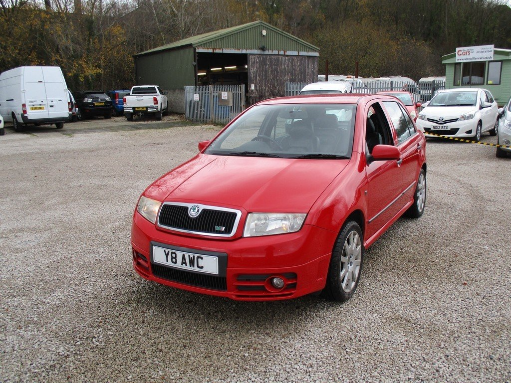 2003 SKODA FABIA 1.9 TDI VRS 83,000 MILES WITH FSH. LEATHER For Sale (picture 3 of 12)