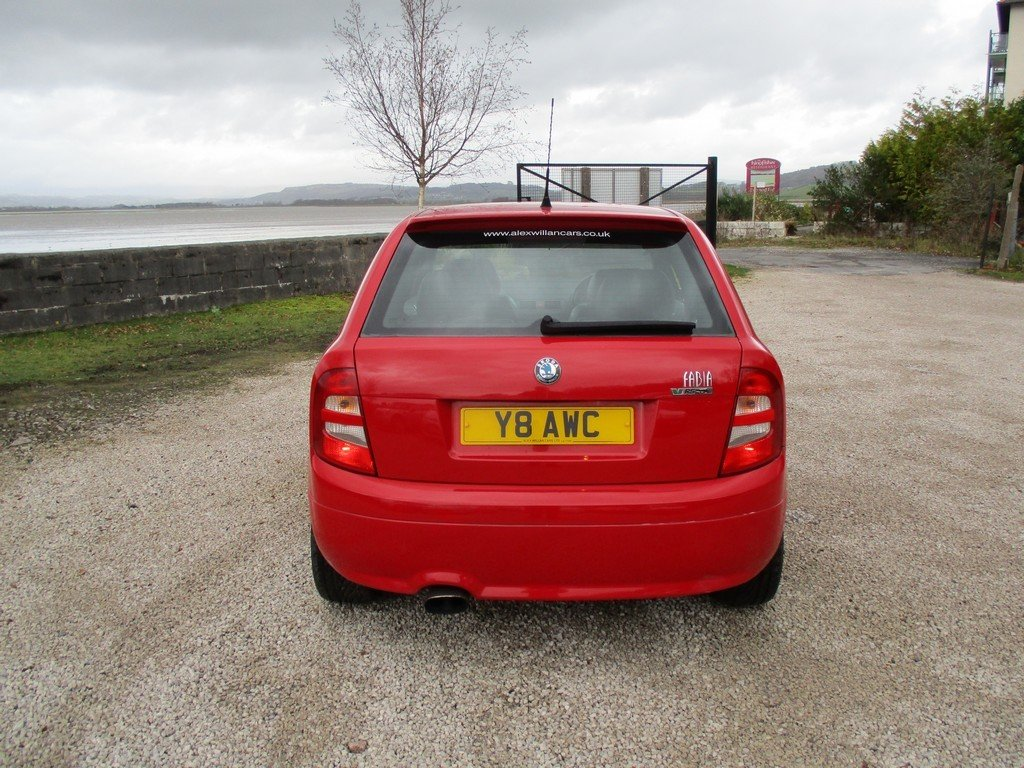 2003 SKODA FABIA 1.9 TDI VRS 83,000 MILES WITH FSH. LEATHER For Sale (picture 5 of 12)