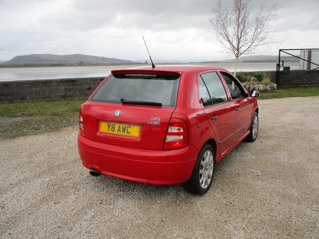 2003 SKODA FABIA 1.9 TDI VRS 83,000 MILES WITH FSH. LEATHER For Sale (picture 6 of 12)