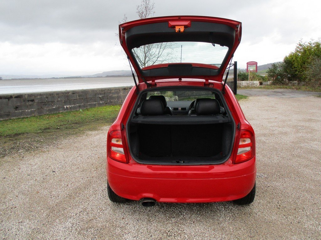 2003 SKODA FABIA 1.9 TDI VRS 83,000 MILES WITH FSH. LEATHER For Sale (picture 11 of 12)