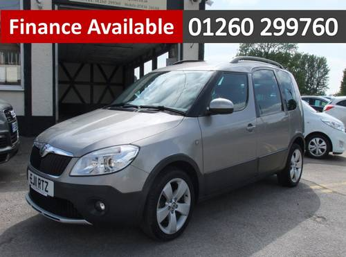 2011 SKODA ROOMSTER 1.2 SCOUT TSI DSG 5DR Automatic SOLD (picture 1 of 6)