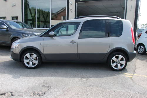 2011 SKODA ROOMSTER 1.2 SCOUT TSI DSG 5DR Automatic SOLD (picture 2 of 6)