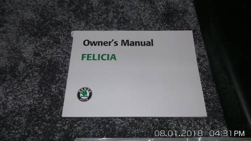 2002 skoda felicia For Sale (picture 1 of 3)