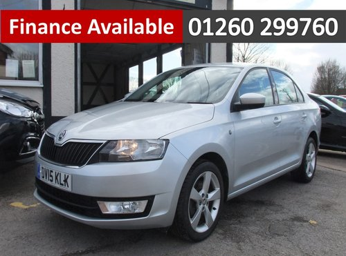 2015 SKODA RAPID 1.2 ELEGANCE TSI 5DR SOLD (picture 1 of 6)