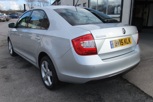 2015 SKODA RAPID 1.2 ELEGANCE TSI 5DR SOLD (picture 3 of 6)