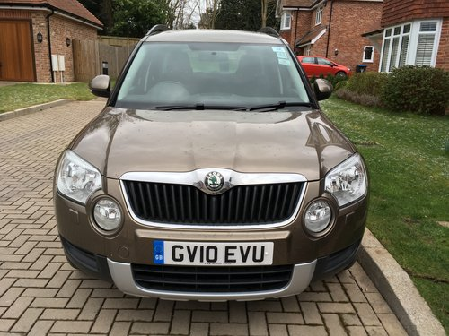 2010 Skoda Yeti Tsi dsg 1.2 SE SOLD (picture 1 of 2)