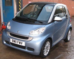 2011 SMART Car Fortwo Passion Coupe 71 MHD Auto 999cc