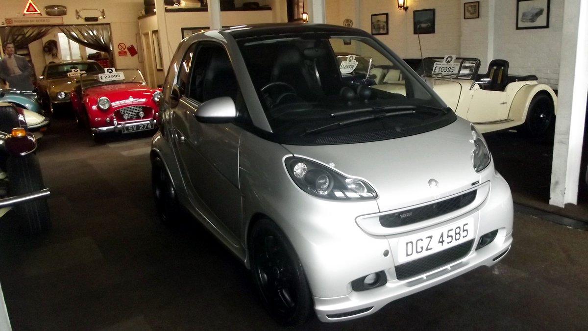 2009 SMART BRABUS Xclusive MERCEDES FORTWO 3 DOOR AUTO TIPTRONIC SOLD (picture 1 of 6)