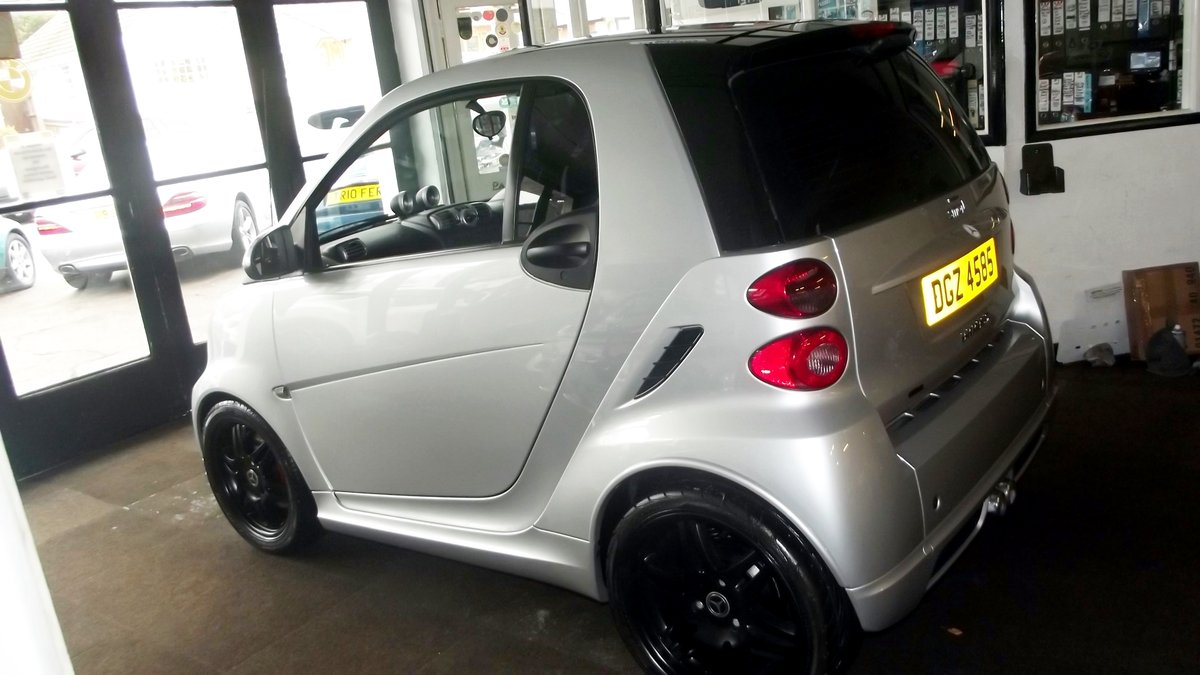 2009 SMART BRABUS Xclusive MERCEDES FORTWO 3 DOOR AUTO TIPTRONIC SOLD (picture 2 of 6)