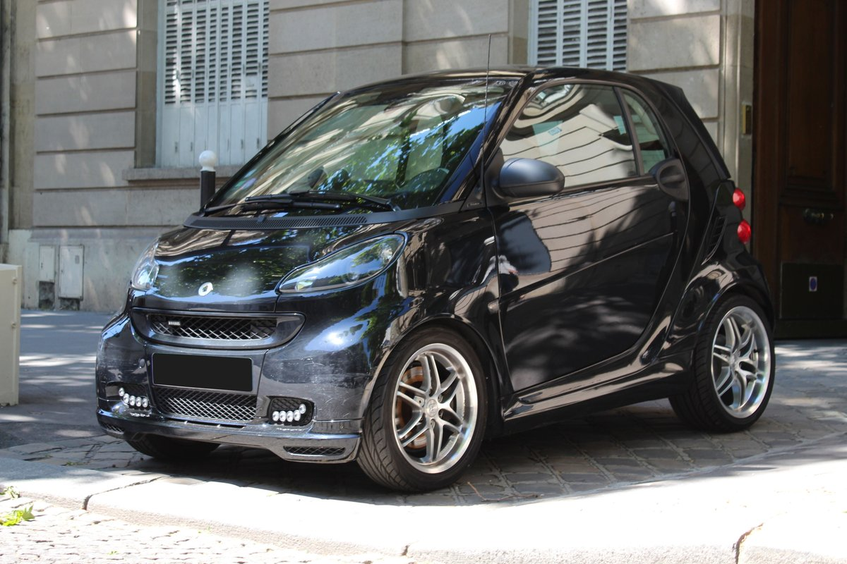 2012 Smart Fortwo Coupé Brabus Xclusive No reserve For Sale by Auction (picture 1 of 6)