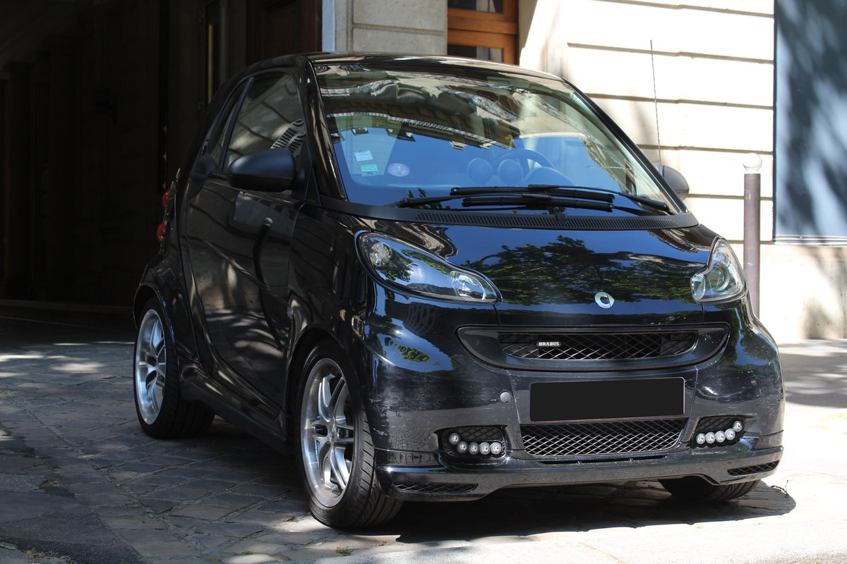 2012 Smart Fortwo Coupé Brabus Xclusive No reserve For Sale by Auction (picture 2 of 6)