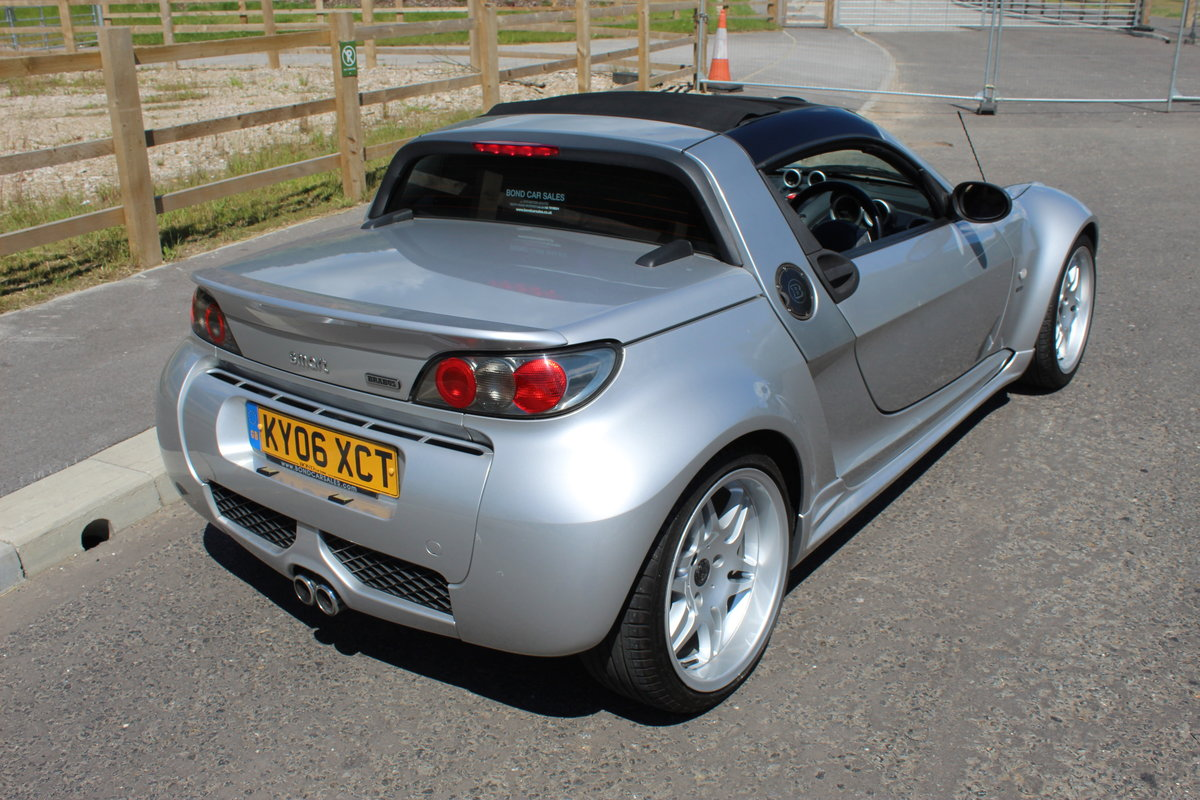 2006 Smart Roadster Brabus Exclusive 72,000 miles with FSH  SOLD (picture 4 of 6)