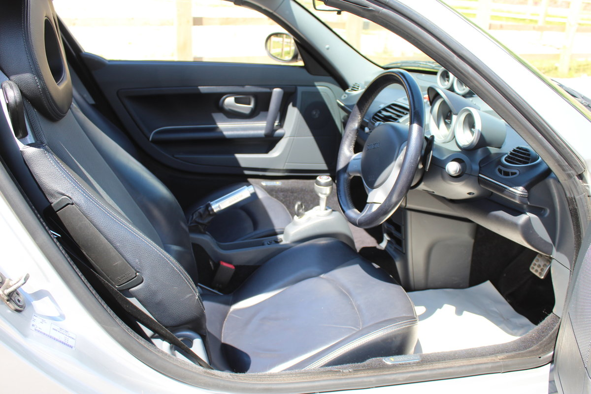 2006 Smart Roadster Brabus Exclusive 72,000 miles with FSH  SOLD (picture 5 of 6)