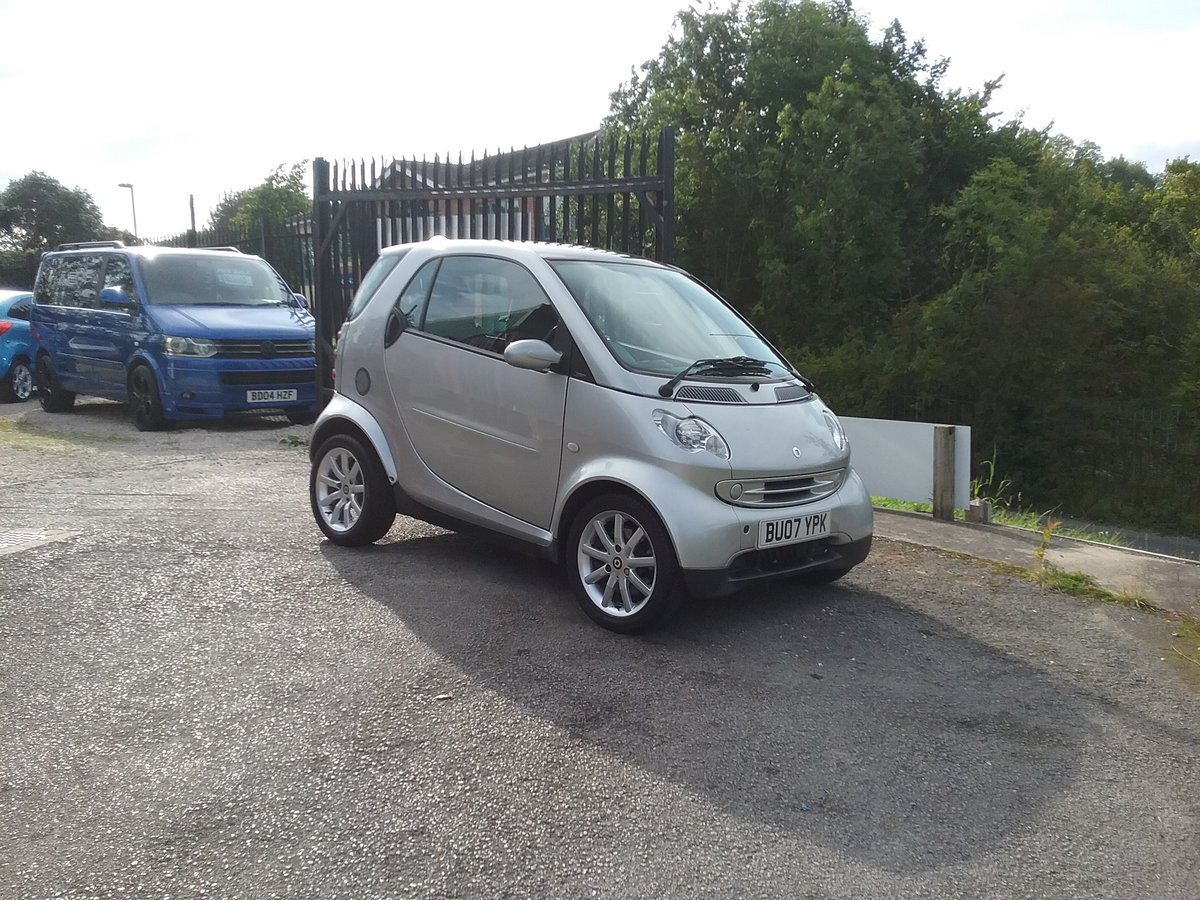 2007 ForTwo Lovely little low mileage City Passion Auto For Sale (picture 1 of 6)