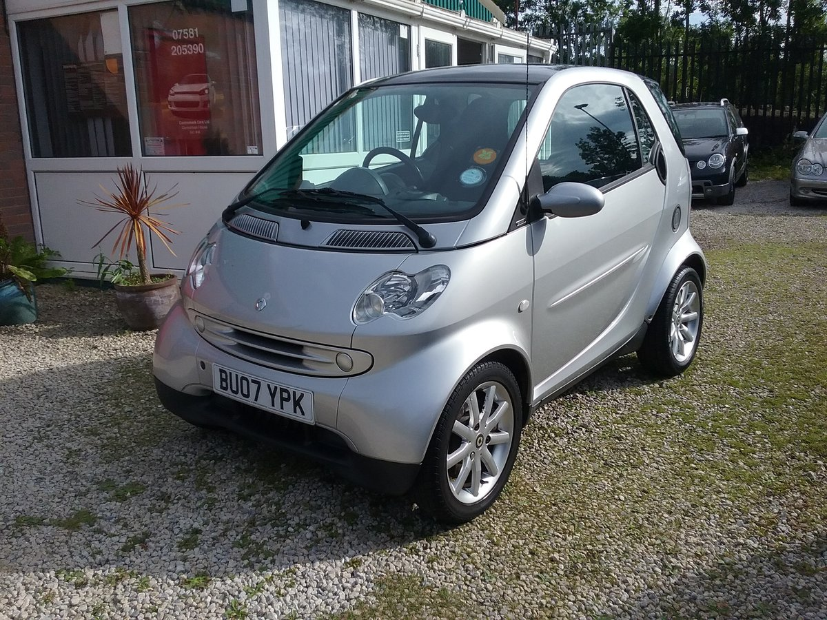 2007 ForTwo Lovely little low mileage City Passion Auto For Sale (picture 2 of 6)