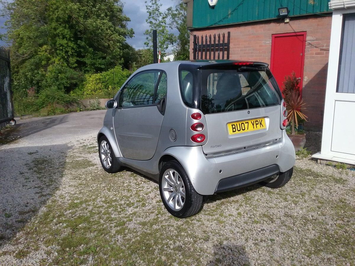 2007 ForTwo Lovely little low mileage City Passion Auto For Sale (picture 4 of 6)